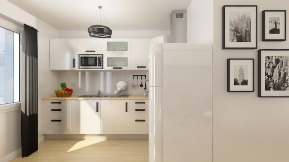Maison+Terrain à vendre .(89 m²)(RINXENT) avec (MAISONS PHENIX)