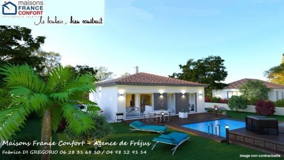 Maison+Terrain à vendre .(93 m²)(FREJUS) avec (MAISONS FRANCE CONFORT)
