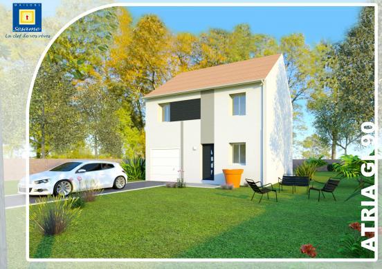 Terrain à vendre .(205 m²)(MEAUX) avec (COFIDIM MAISONS SESAME)