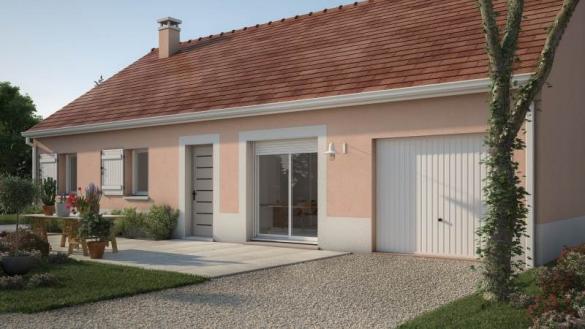Maison+Terrain à vendre .(65 m²)(ITTEVILLE) avec (MAISONS BALENCY)