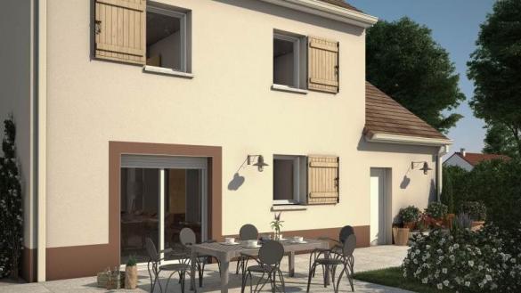 Maison+Terrain à vendre .(74 m²)(VERT SAINT DENIS) avec (MAISONS BALENCY)