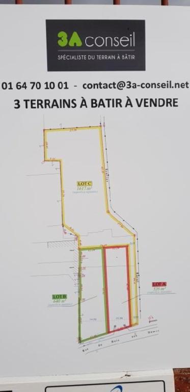 Terrains du constructeur 3 A CONSEIL • 1617 m² • SOISY BOUY