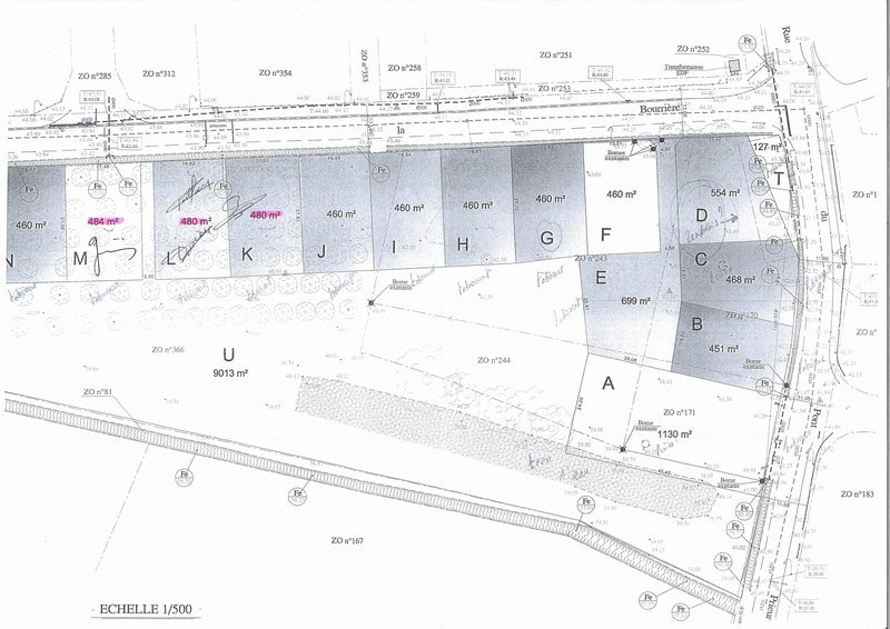 Terrains du constructeur ROCHER IMMOBILIER • 485 m² • FROIDFOND