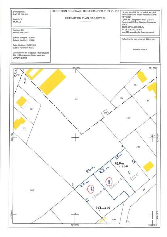 Terrains du constructeur SCP GALLET BROUSSE • 1200 m² • MOULLE