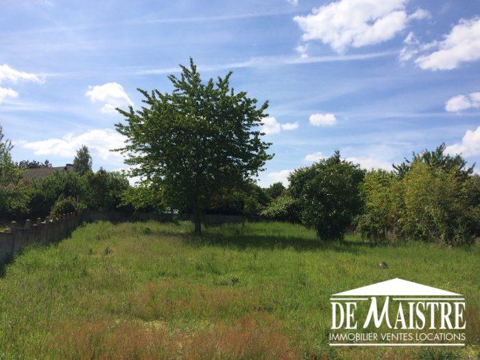 Terrains du constructeur DE MAISTRE IMMOBILIER • 800 m² • SAINT AIGNAN LE JAILLARD