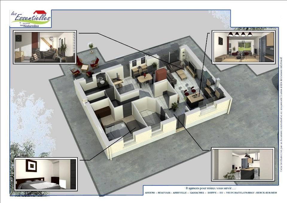 Maisons + Terrains du constructeur MAISONS LES NATURELLES • 107 m² • PLACHY BUYON