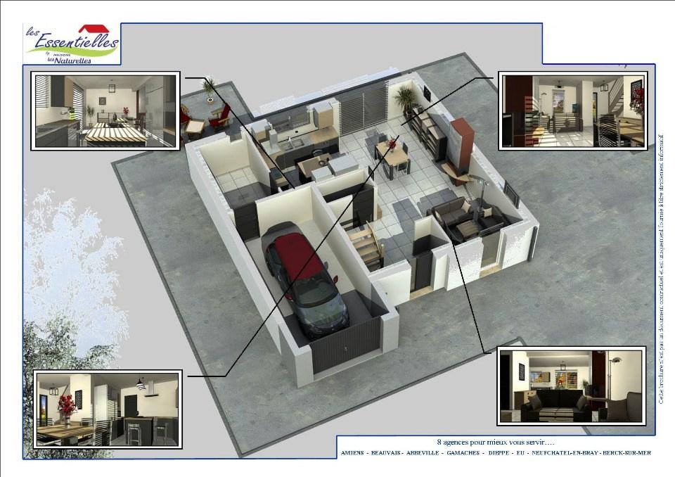 Maisons + Terrains du constructeur MAISONS LES NATURELLES • 94 m² • PLACHY BUYON