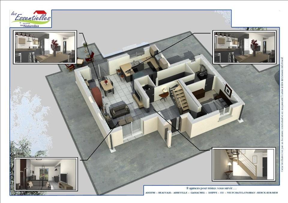 Maisons + Terrains du constructeur MAISONS LES NATURELLES • 111 m² • PLACHY BUYON
