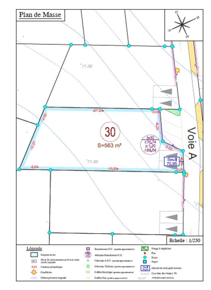 Terrains du constructeur MAISONS LES NATURELLES • 563 m² • CORBIE
