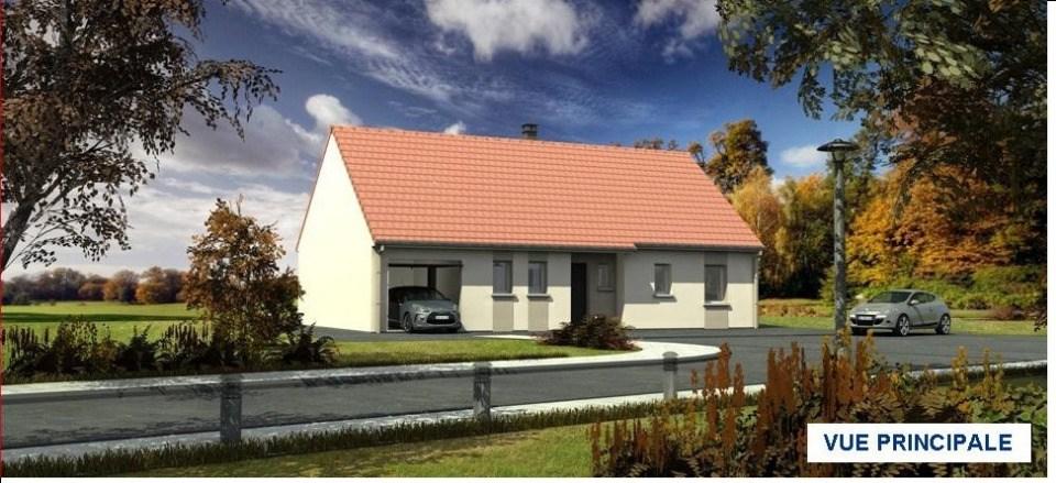Maisons + Terrains du constructeur MAISONS LES NATURELLES • 86 m² • DOMART SUR LA LUCE