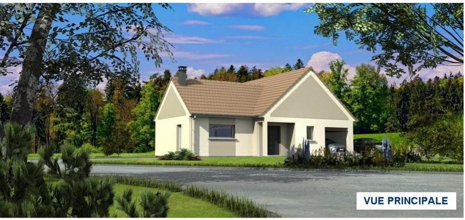 Maisons + Terrains du constructeur MAISONS LES NATURELLES • 98 m² • DOMART SUR LA LUCE