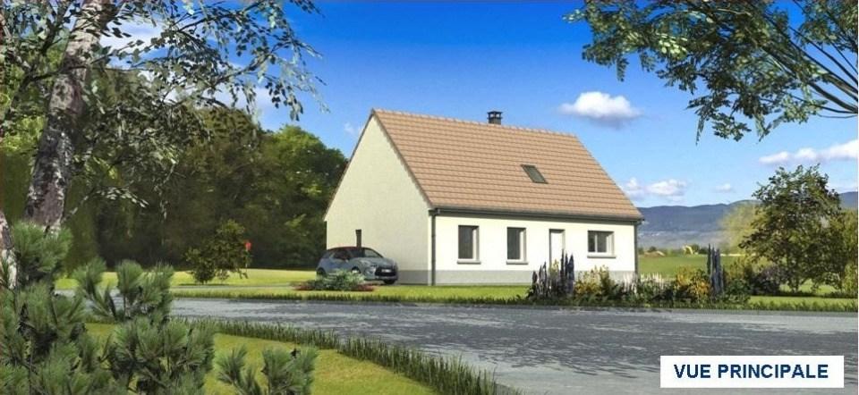 Maisons + Terrains du constructeur MAISONS LES NATURELLES • 107 m² • DOMART SUR LA LUCE