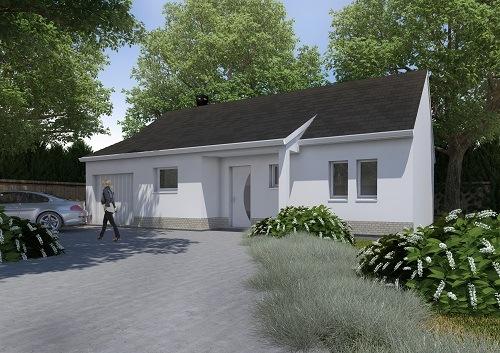 Maisons + Terrains du constructeur RESIDENCES PICARDES ABBEVILLE • 74 m² • COULONVILLERS