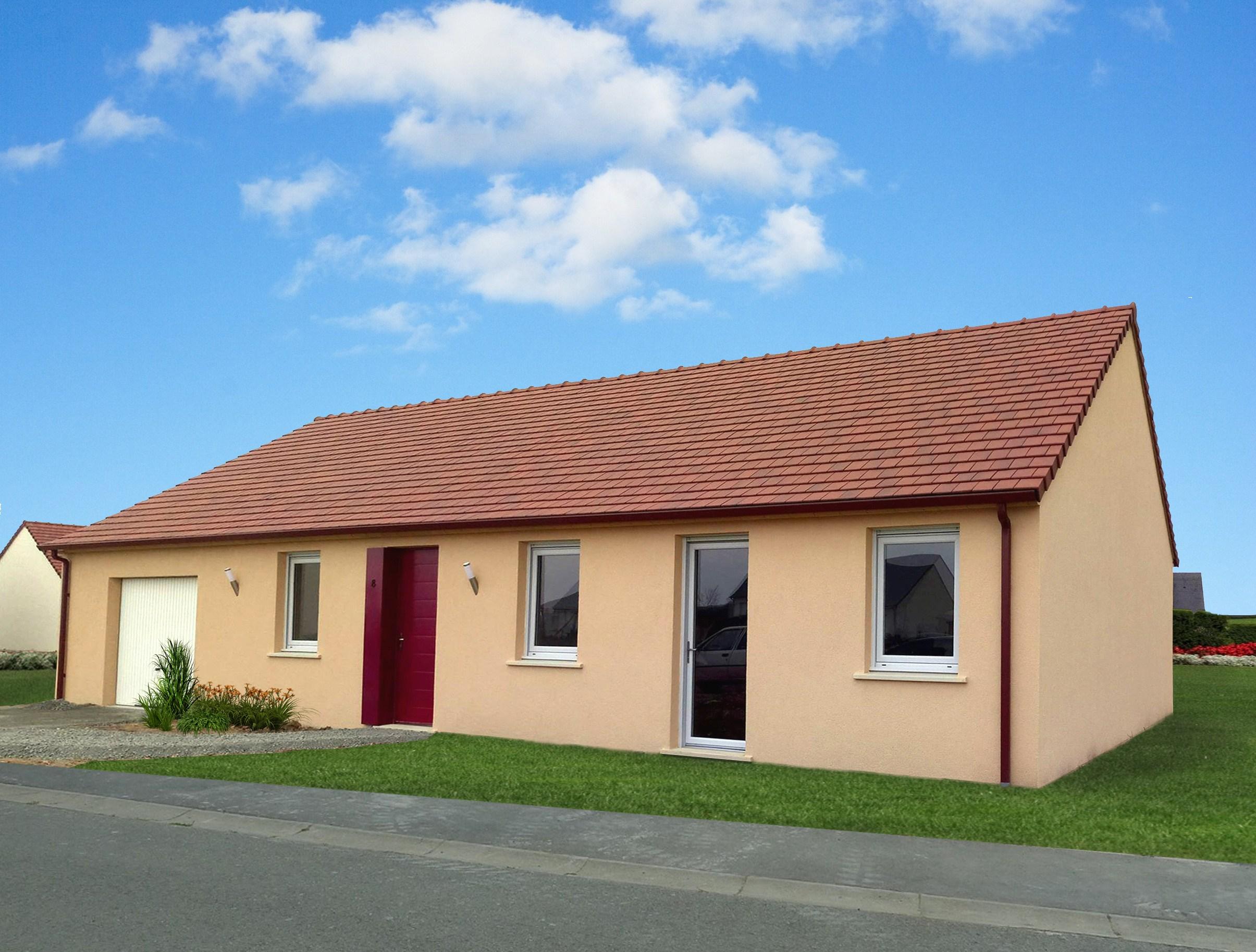 Maisons + Terrains du constructeur Maisons Phénix Tours • 100 m² • BLERE
