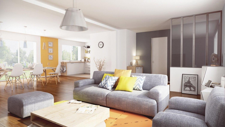 Maisons + Terrains du constructeur MAISONS PHENIX • 102 m² • SALLERTAINE