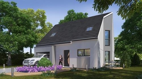 Maisons + Terrains du constructeur HABITAT CONCEPT • 89 m² • BEAUMETZ LES LOGES
