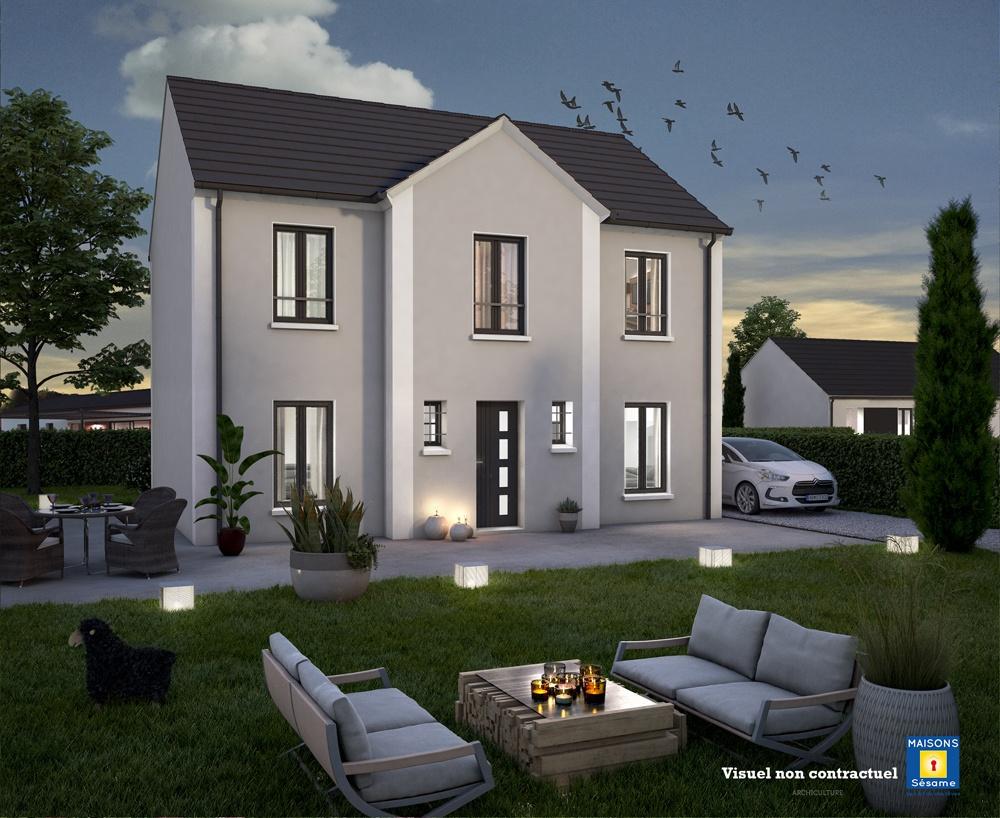 Maisons + Terrains du constructeur COFIDIM MAISONS SESAME • 90 m² • MERY SUR OISE