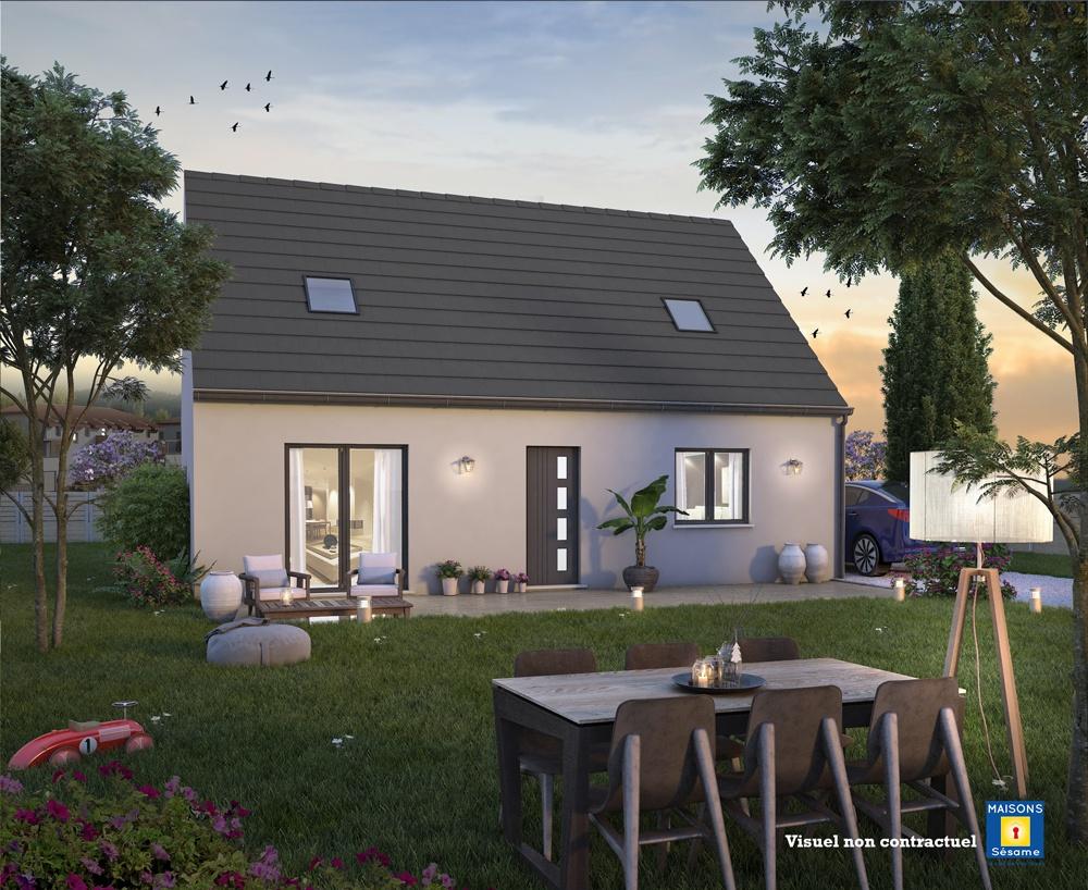 Maisons + Terrains du constructeur COFIDIM MAISONS SESAME • 90 m² • CORMEILLES EN PARISIS