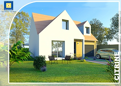 Maisons + Terrains du constructeur COFIDIM MAISONS SESAME • 100 m² • TAVERNY