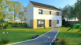 Maisons + Terrains du constructeur COFIDIM MAISONS SESAME • 100 m² • DOMONT