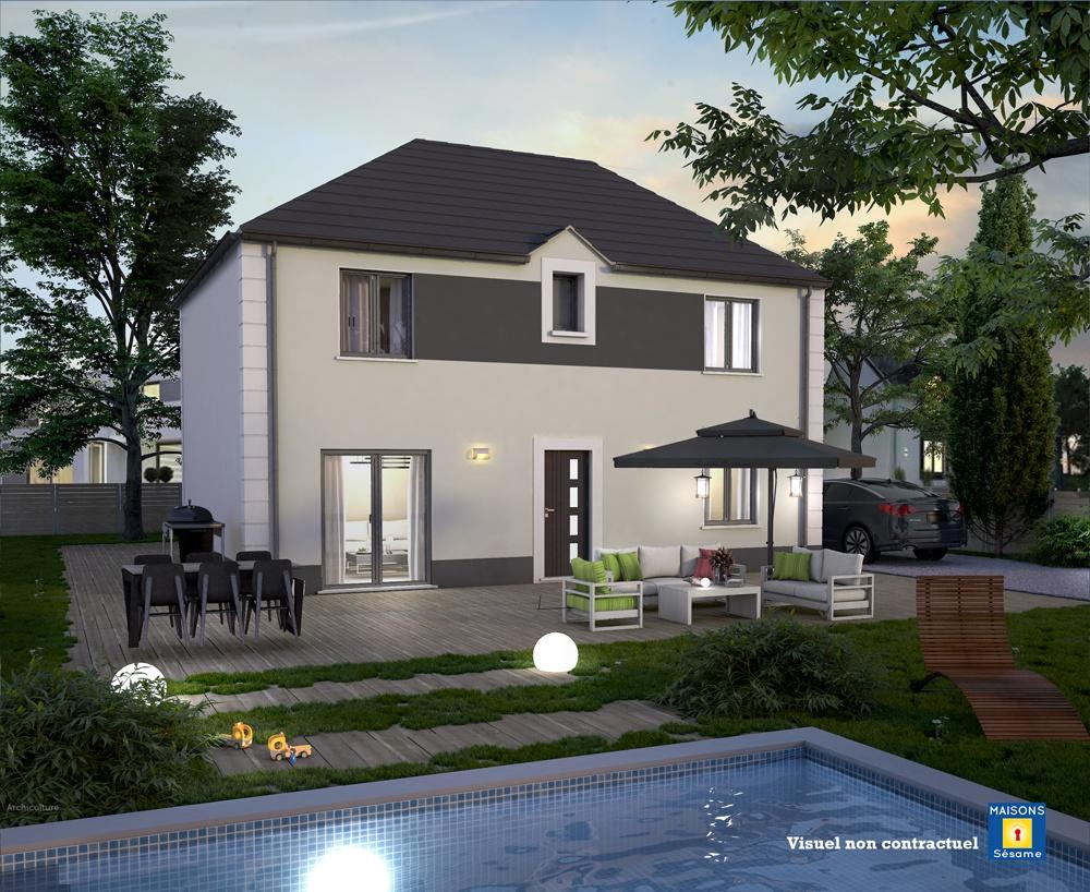 Maisons + Terrains du constructeur COFIDIM MAISONS SESAME • 100 m² • BEAUMONT SUR OISE