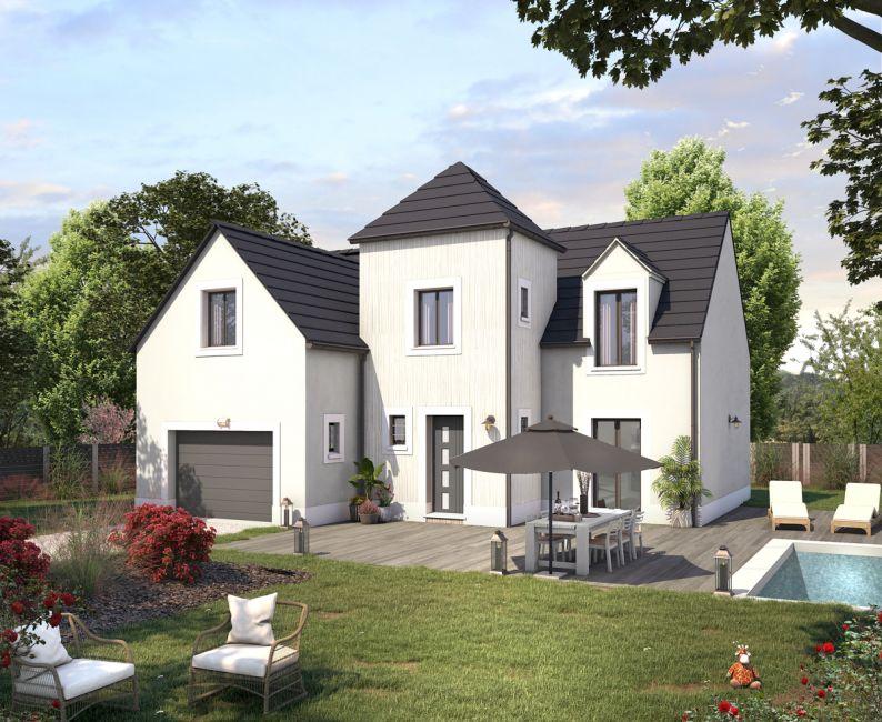Maisons + Terrains du constructeur COFIDIM MAISONS SESAME • 125 m² • DOMONT
