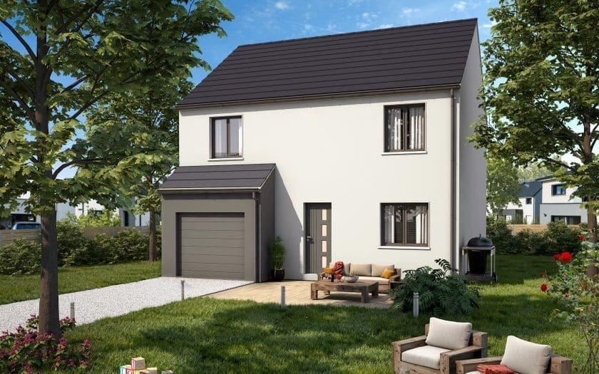 Maisons + Terrains du constructeur COFIDIM MAISONS SESAME • 125 m² • BEAUMONT SUR OISE