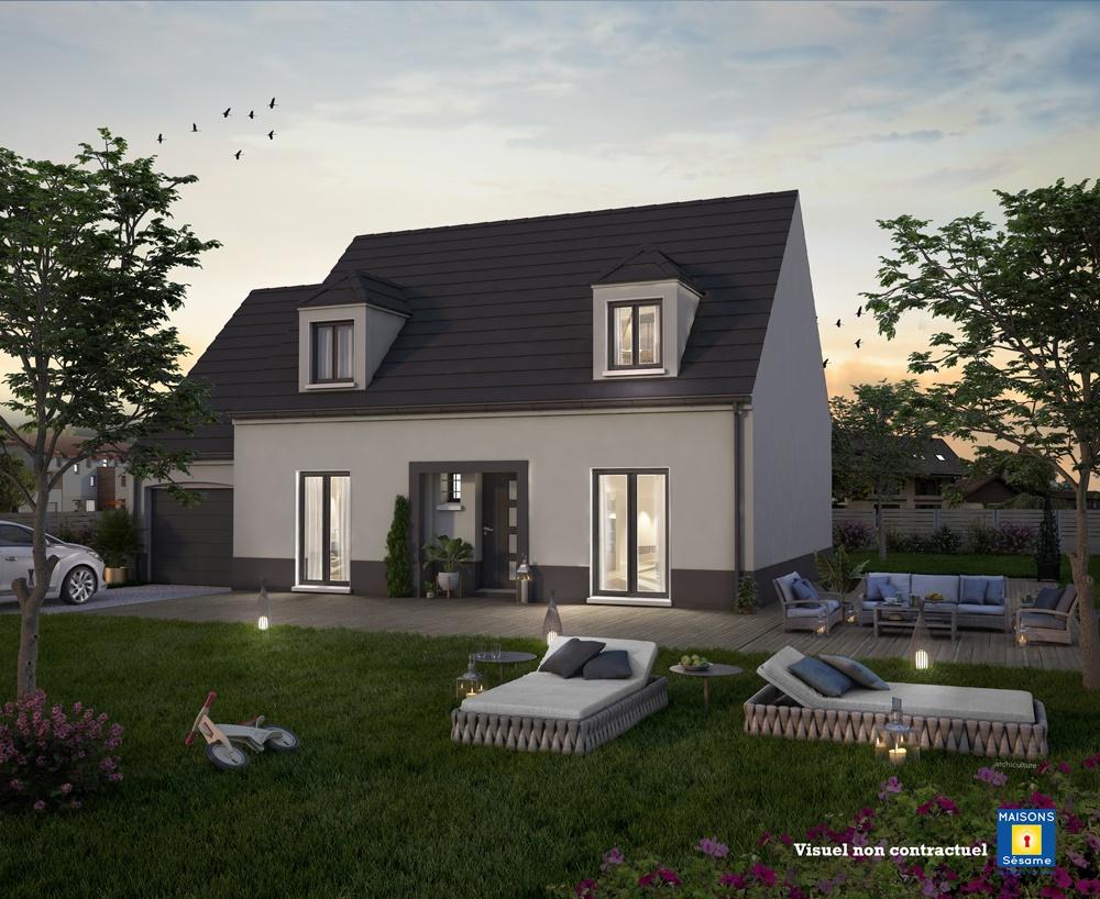 Maisons + Terrains du constructeur COFIDIM MAISONS SESAME • 100 m² • MOURS
