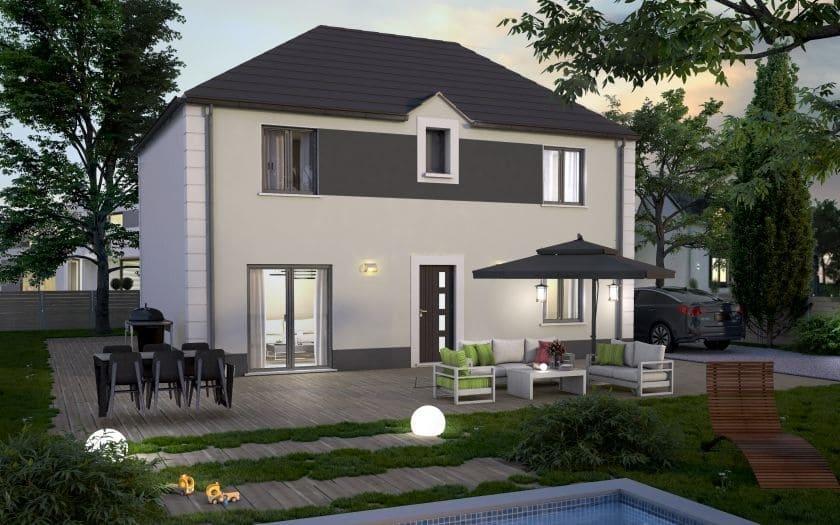 Maisons + Terrains du constructeur COFIDIM MAISONS SESAME • 110 m² • VIARMES