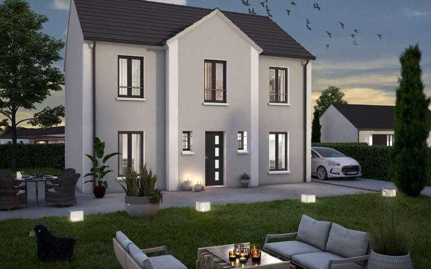 Maisons + Terrains du constructeur COFIDIM MAISONS SESAME • 140 m² • VIARMES