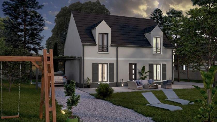 Maisons + Terrains du constructeur COFIDIM MAISONS SESAME • 100 m² • VIARMES