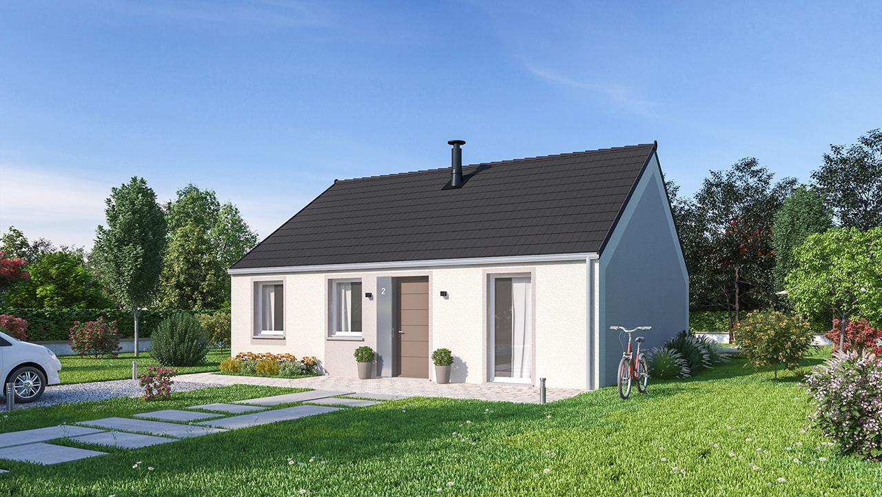 Maisons + Terrains du constructeur MAISONS PHENIX • 75 m² • LA FERTE SOUS JOUARRE