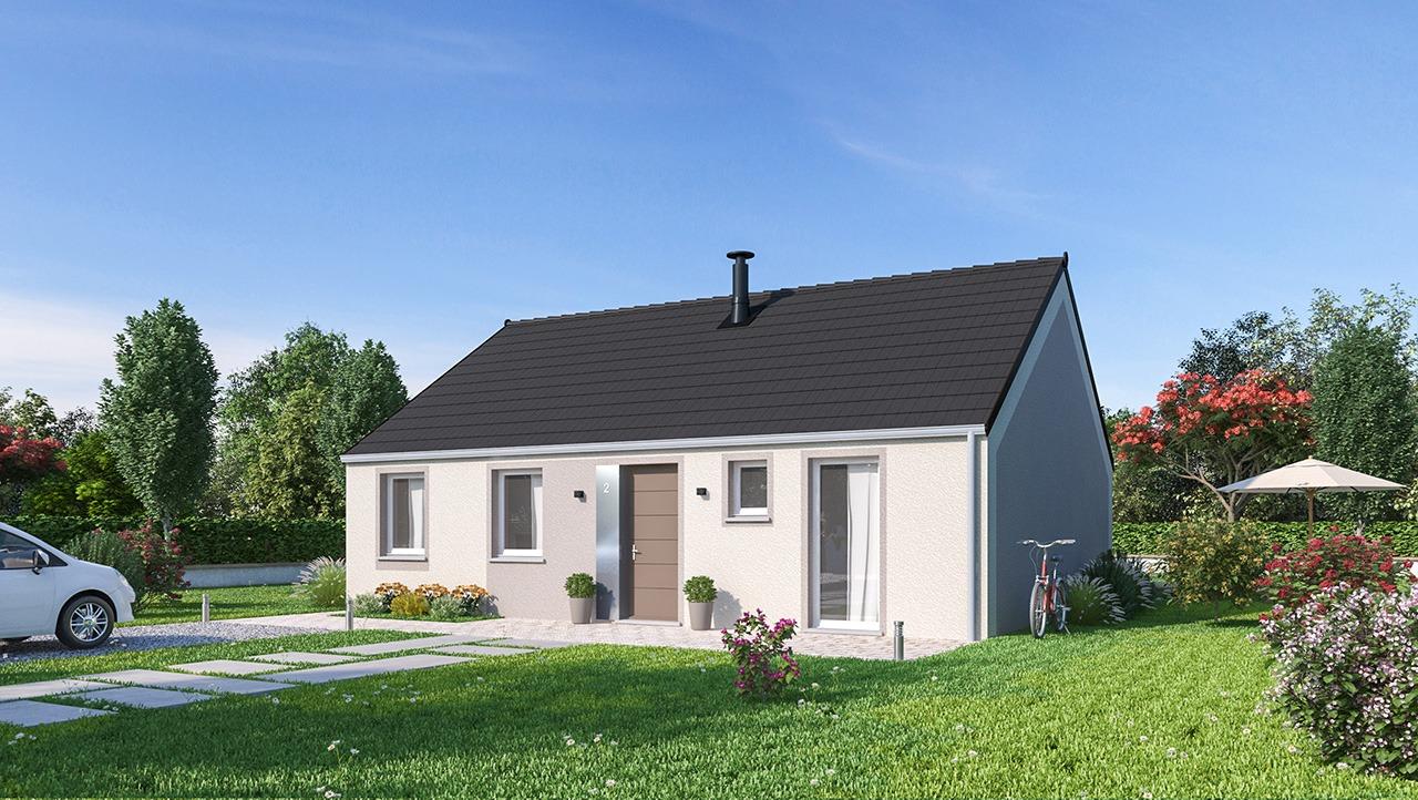 Maisons + Terrains du constructeur MAISONS PHENIX • 84 m² • LORREZ LE BOCAGE PREAUX