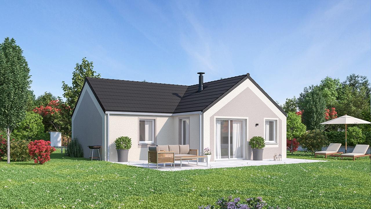 Maisons + Terrains du constructeur MAISONS PHENIX • 73 m² • MEAUX