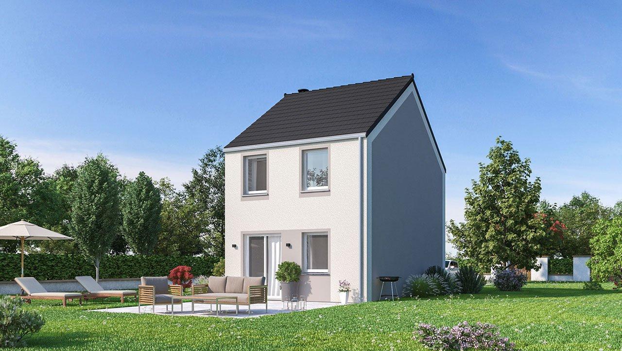 Maisons + Terrains du constructeur MAISONS PHENIX • 77 m² • CRECY LA CHAPELLE