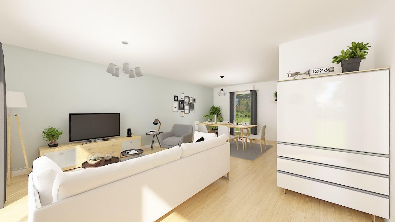 Maisons + Terrains du constructeur MAISONS PHENIX • 107 m² • MEAUX