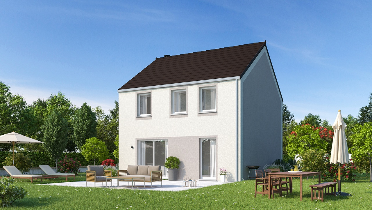 Maisons + Terrains du constructeur MAISONS PHENIX • 116 m² • LA FERTE SOUS JOUARRE