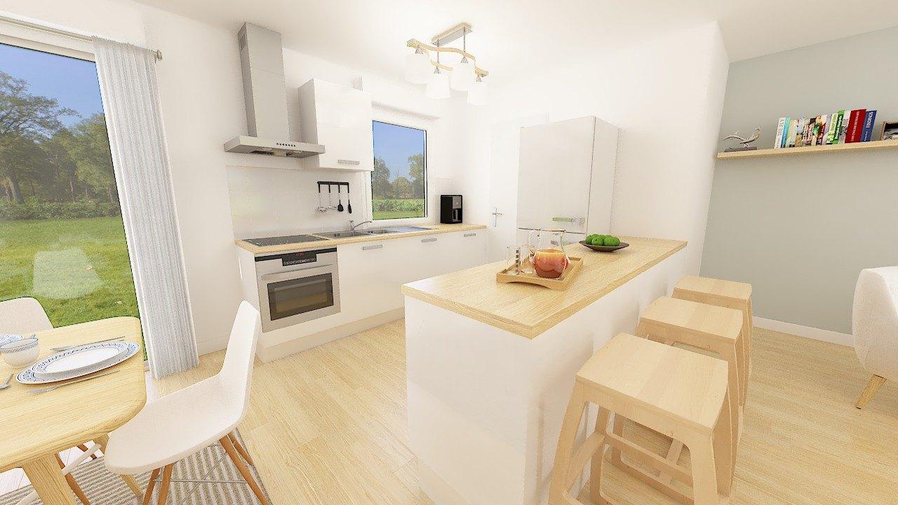 Maisons + Terrains du constructeur MAISONS PHENIX • 105 m² • COULOMMIERS