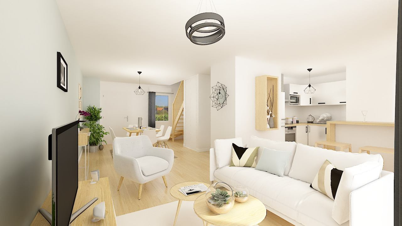 Maisons + Terrains du constructeur MAISONS PHENIX • 106 m² • TRILPORT