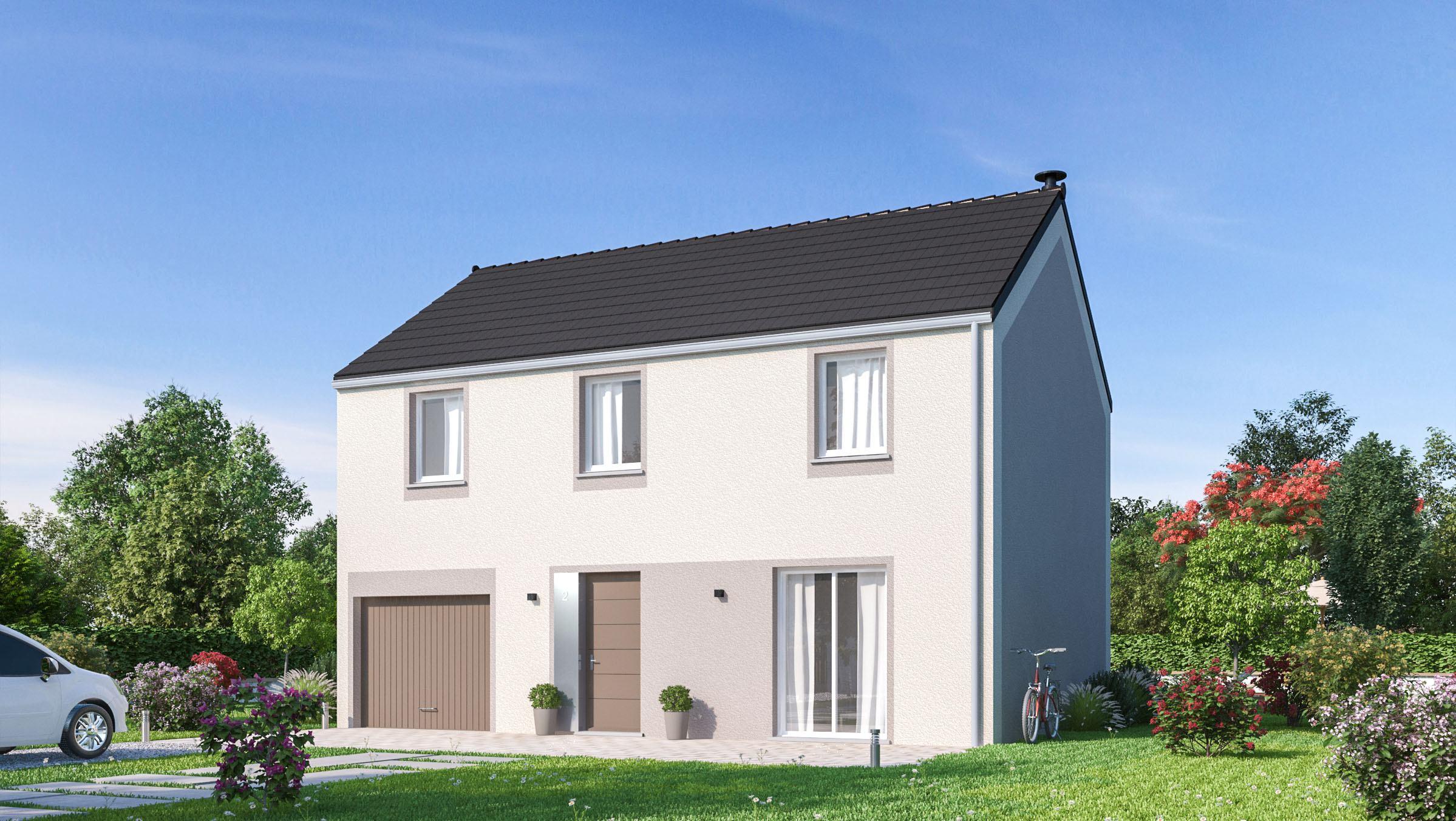 Maisons + Terrains du constructeur MAISONS PHENIX • 116 m² • SAINT MARTIN EN BIERE