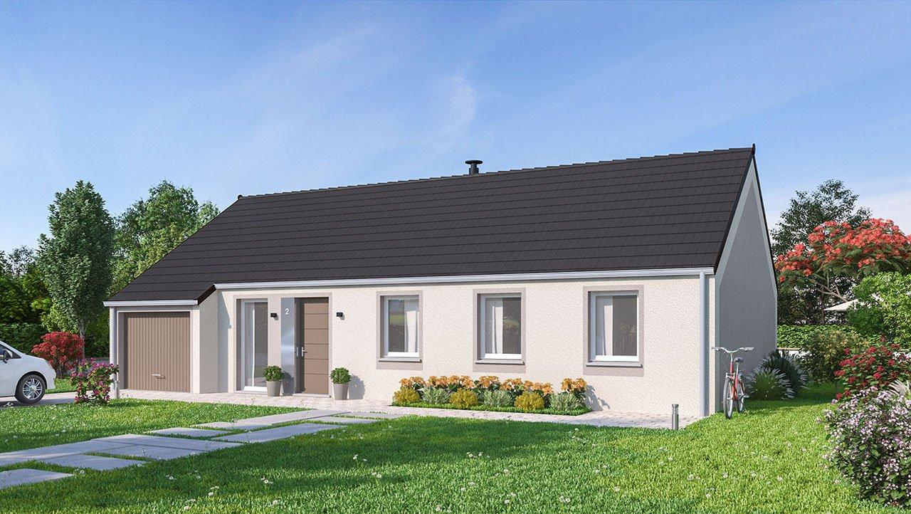 Maisons + Terrains du constructeur MAISONS PHENIX • 102 m² • RUBELLES