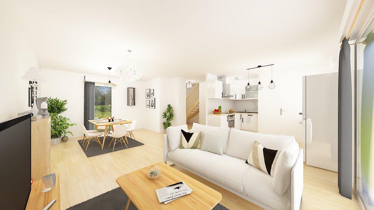 Maisons + Terrains du constructeur MAISONS PHENIX • 90 m² • MEAUX