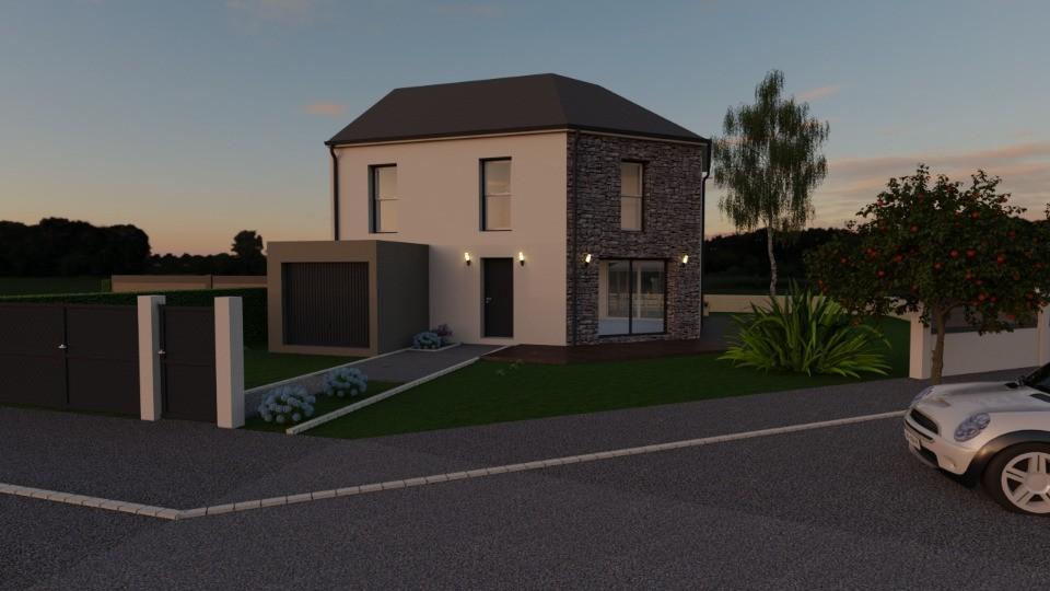Maisons + Terrains du constructeur MAISONS FRANCE CONFORT • 96 m² • SAINTE GENEVIEVE DES BOIS