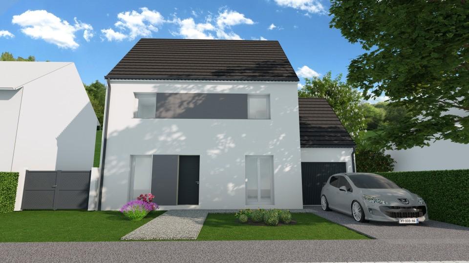 Maisons + Terrains du constructeur MAISONS FRANCE CONFORT • 114 m² • VILLEJUST