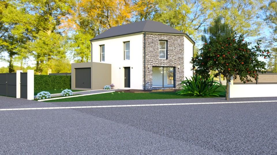 Maisons + Terrains du constructeur MAISONS FRANCE CONFORT • 91 m² • SAINTE GENEVIEVE DES BOIS