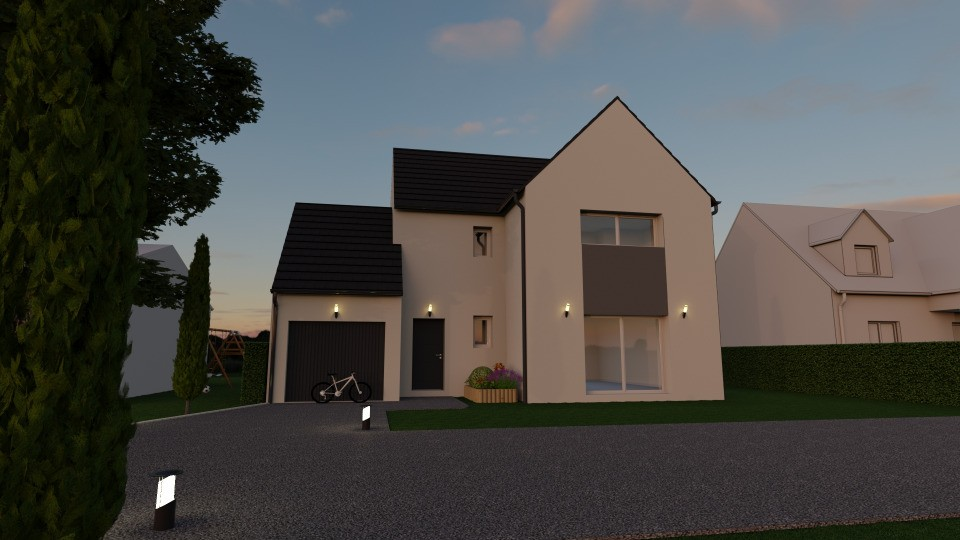 Maisons + Terrains du constructeur MAISONS FRANCE CONFORT • 95 m² • VILLEJUST