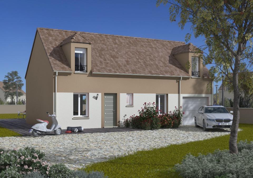 Maisons + Terrains du constructeur MAISONS FRANCE CONFORT • 90 m² • BALLANCOURT SUR ESSONNE