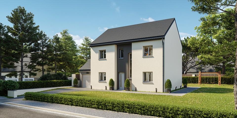 Maisons + Terrains du constructeur MAISONS FRANCE CONFORT • 100 m² • LA NORVILLE
