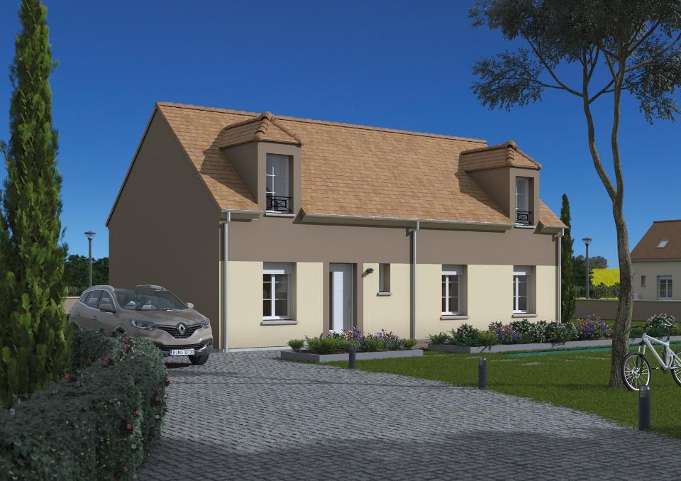 Maisons + Terrains du constructeur MAISONS FRANCE CONFORT • 105 m² • GOMETZ LE CHATEL