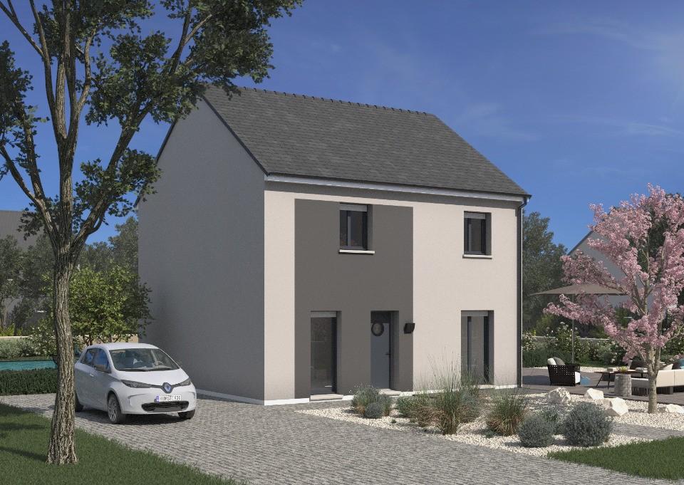 Maisons + Terrains du constructeur MAISONS FRANCE CONFORT • 102 m² • MARCOUSSIS